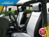 Coverking CR-Grade Neoprene Custom Fit Seat Covers for Jeep Wrangler JK 2015