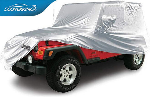 Coverking Silverguard Custom Fit Car Cover for Jeep Wrangler 4 Doors