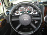 Wheelskins Leather Steering Wheel Cover for Jeep Wrangler Original One-Color