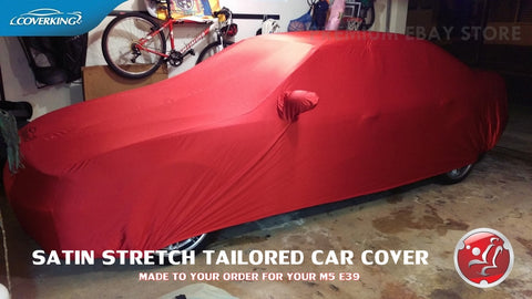 COVERKING SATIN STRETCH INDOOR CUSTOM CAR COVER FOR BMW E39 M5