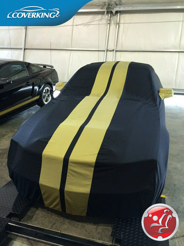 Coverking Satin Stretch Custom Fit Car Cover for Ford Mustang Shelby Hertz Edition