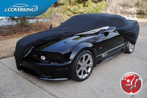Coverking Satin Stretch Custom Fit Car Covers for Ford Mustang