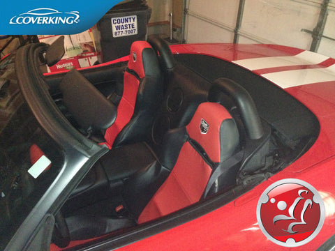 Dodge Viper Custom Fit Premium Leatherette Seat Covers from Coverking