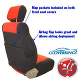 Coverking CR-Grade Neoprene Custom Fit Seat Covers for Jeep Wrangler TJ 03-06