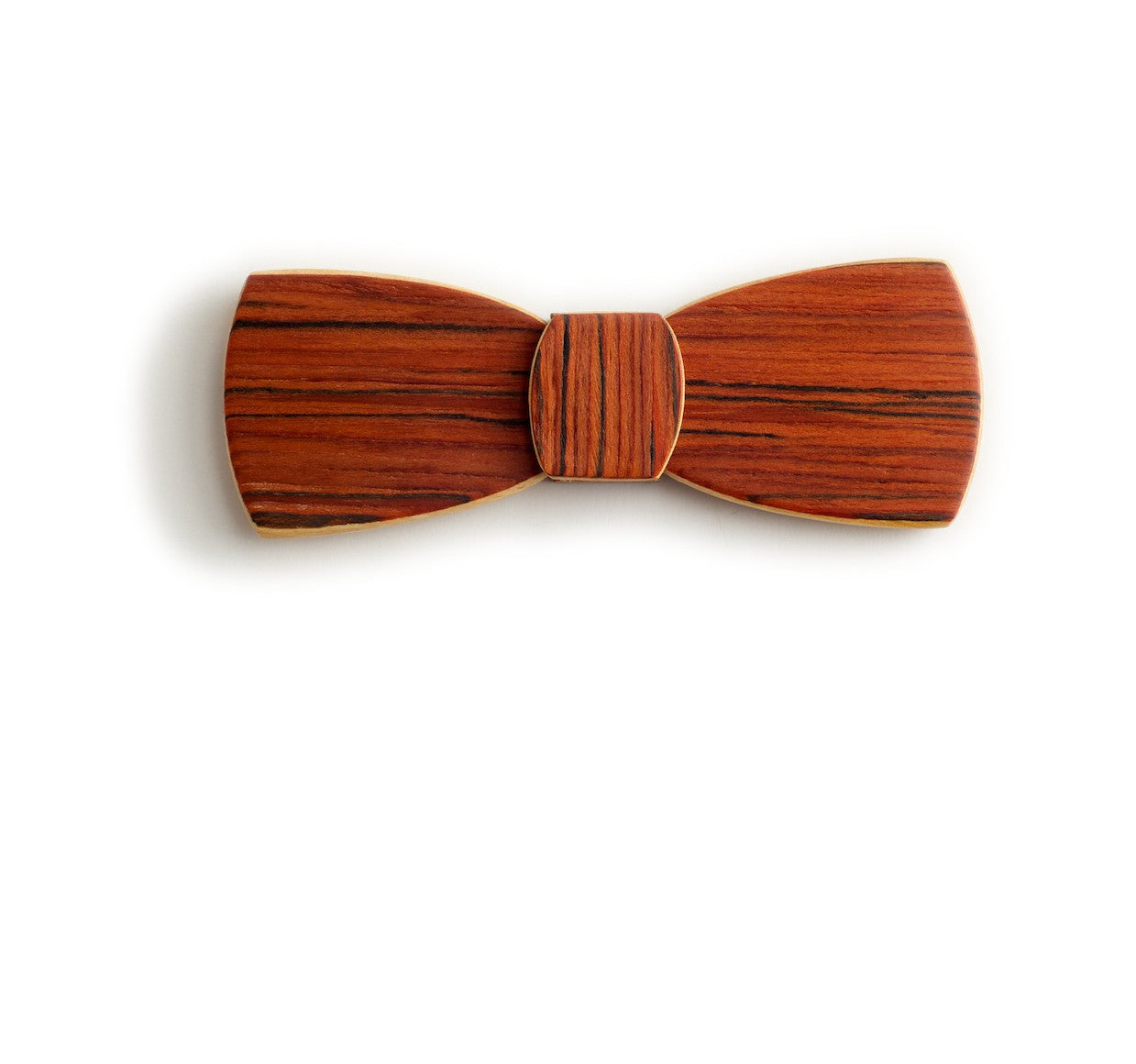 Batwing Hipster Wood Bow Tie - Shepherds Delight