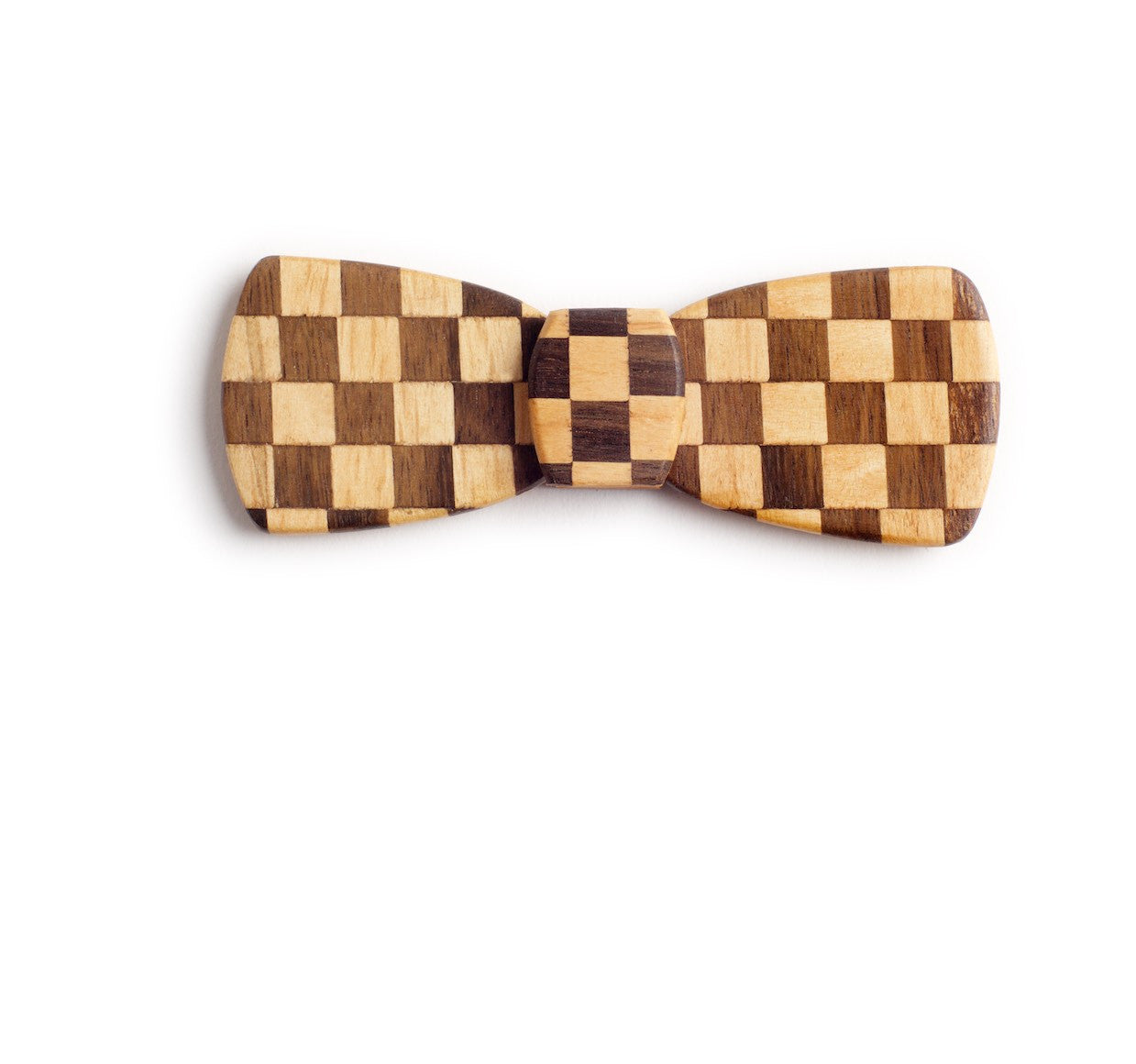Batwing Wood Bow Tie - Starting flag