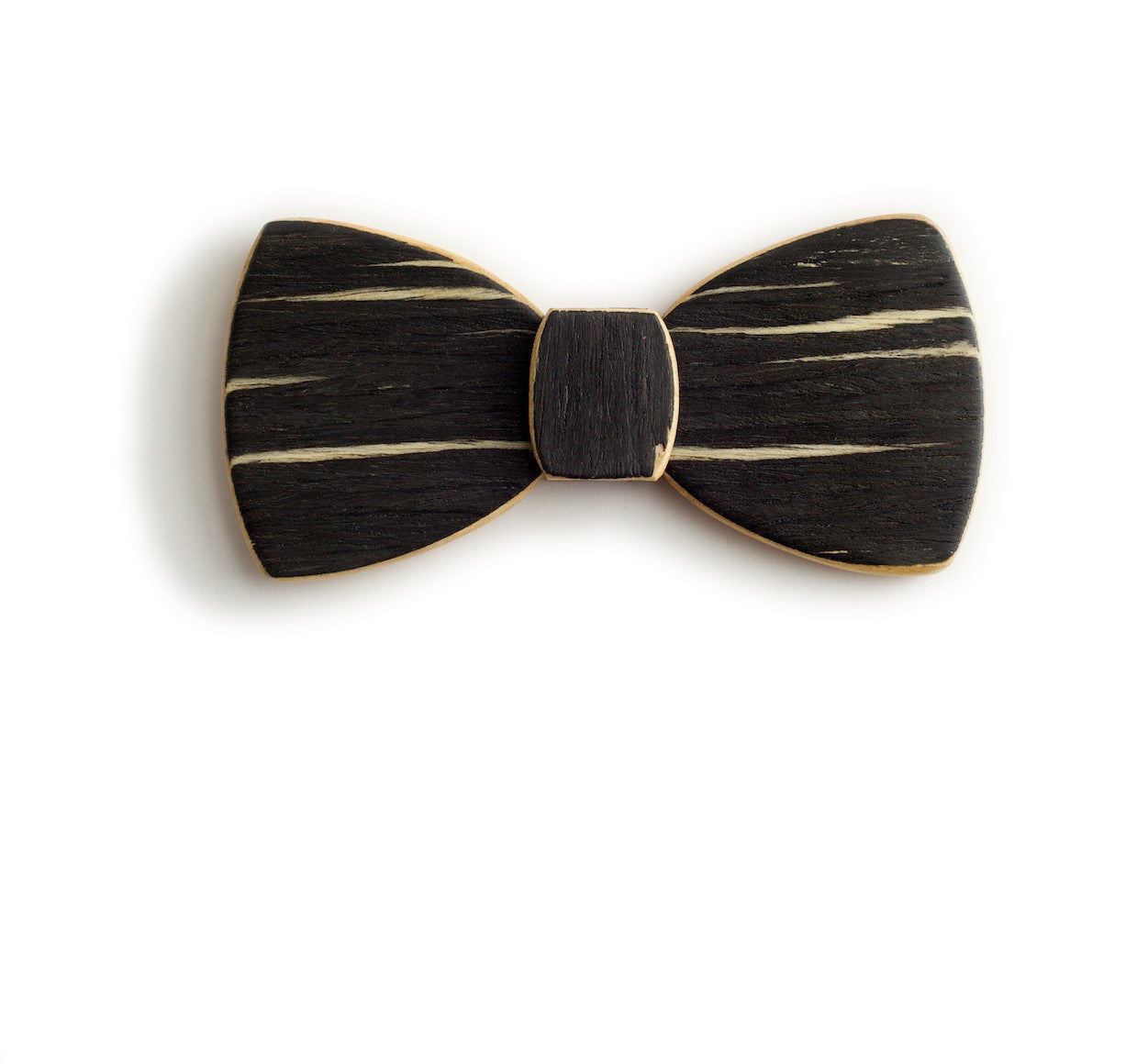 Butterfly Wood Bow Tie - Dawn