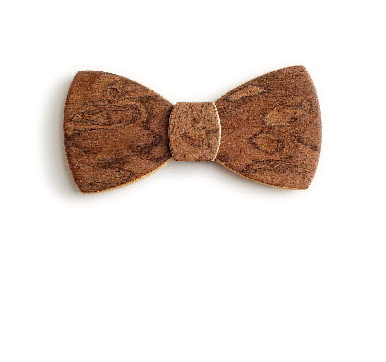 Butterfly Wood Bow Tie - Mud Splash