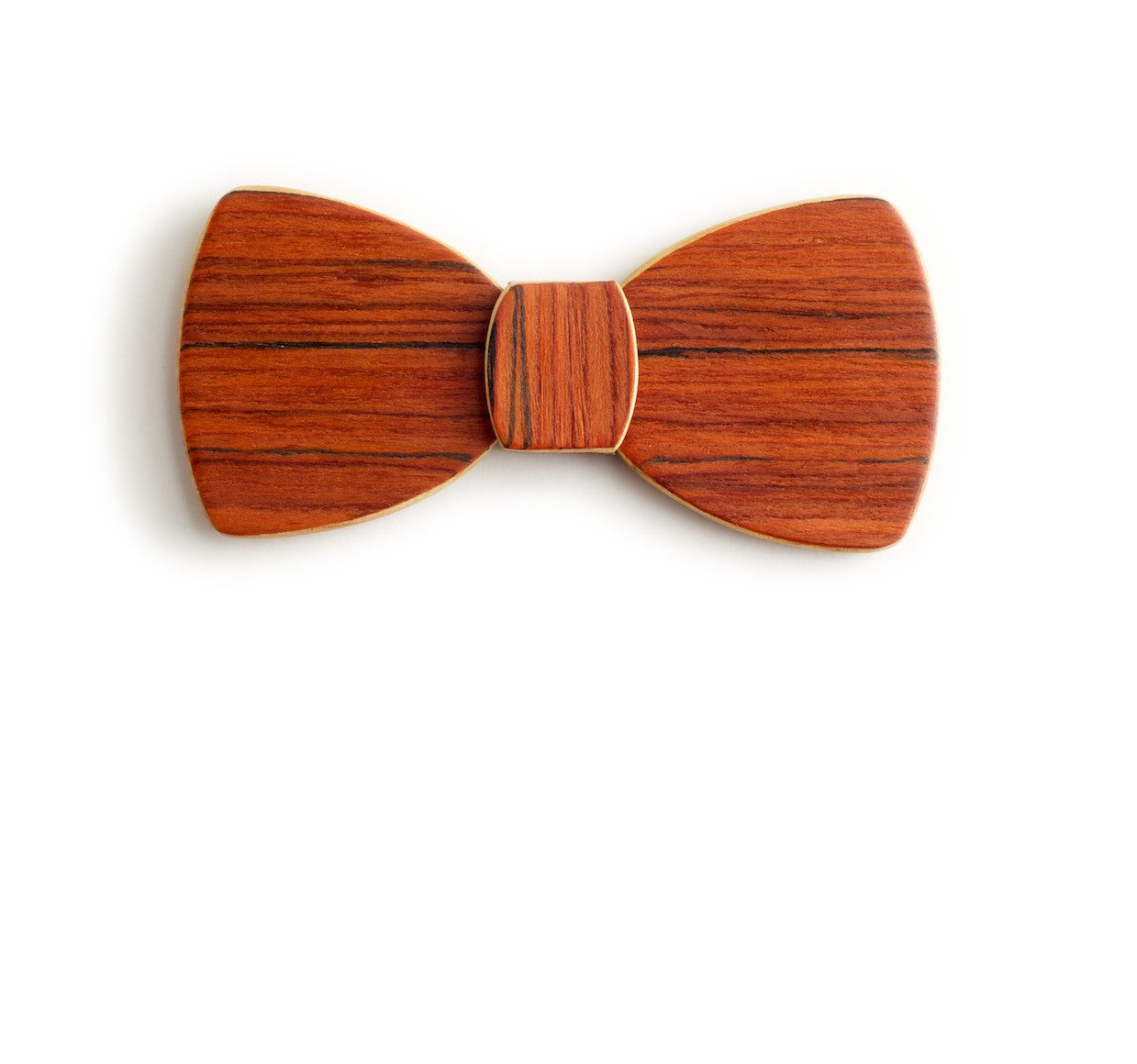 Butterfly Wood Bow Tie - Shepherds Delight