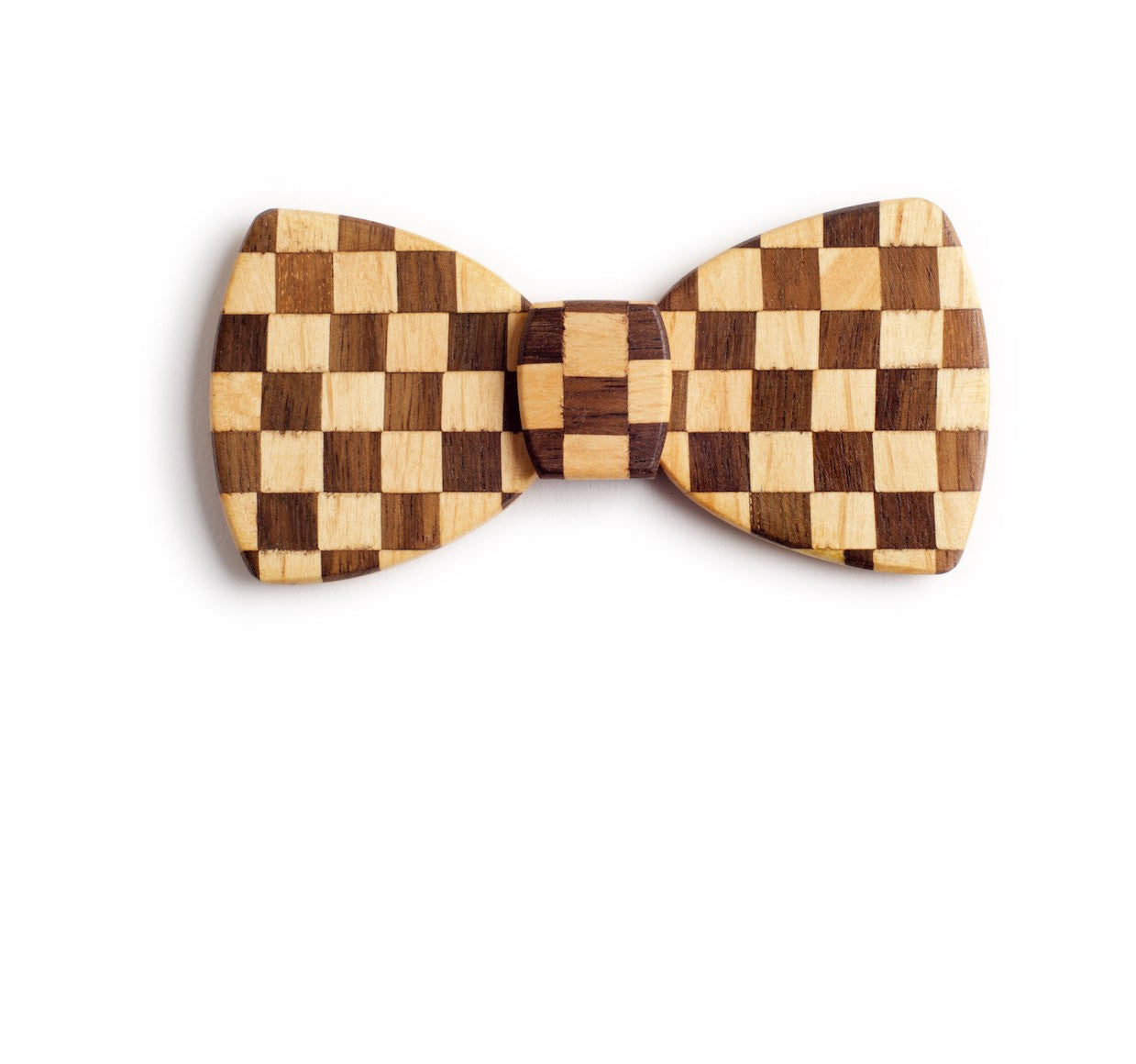 Butterfly Wood Bow Tie - Starting flag
