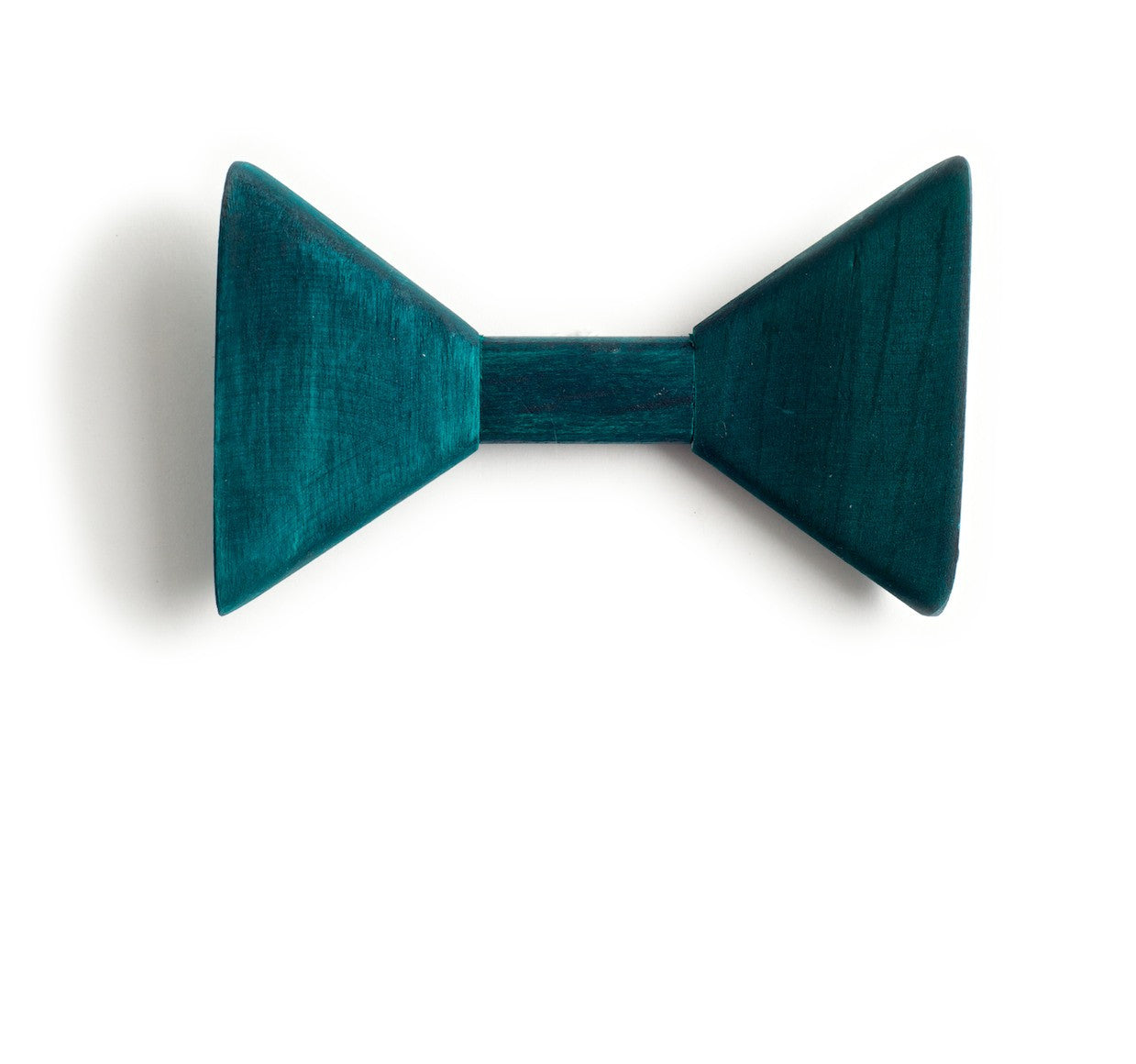 Sharp.c Green Wooden Bow Tie