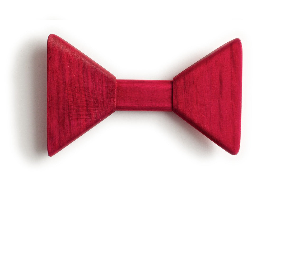 Sharp.c Pink Wooden Bow Tie