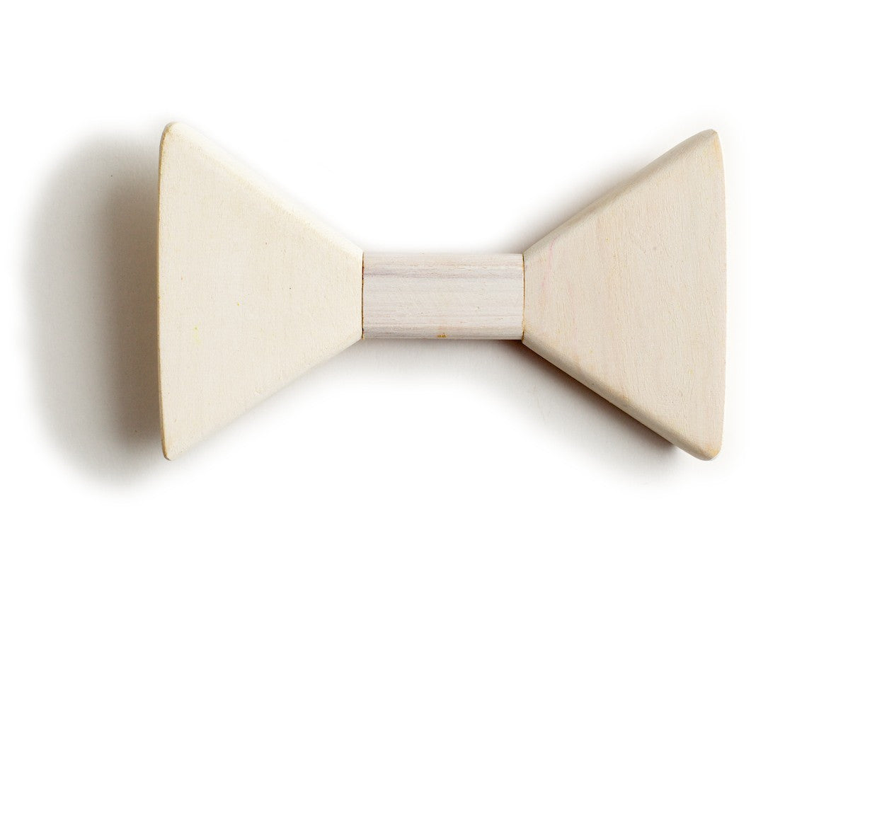 Sharp.c White Wooden Bow Tie