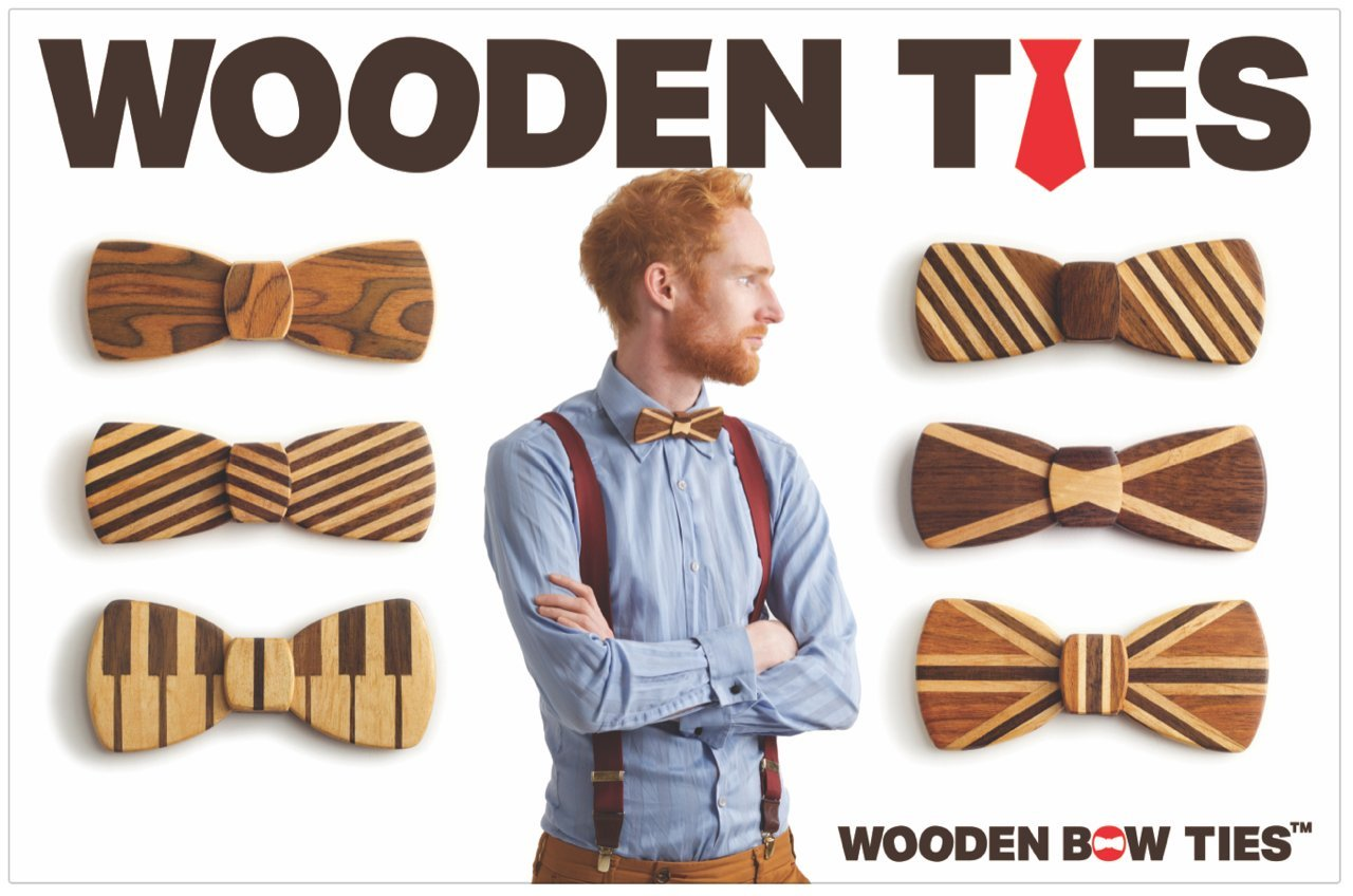 Wooden (Bow) Ties