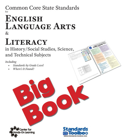 Big Book for English, Language Arts, and Literacy