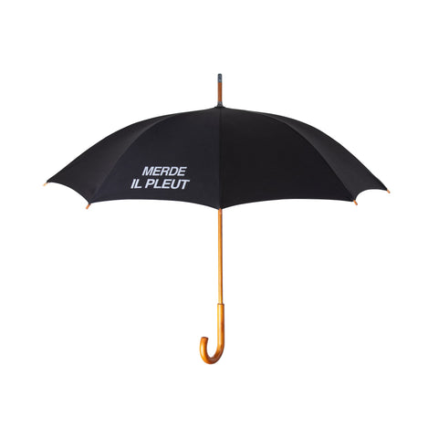 MERDE IL PLEUT Umbrella - Merry Yellow