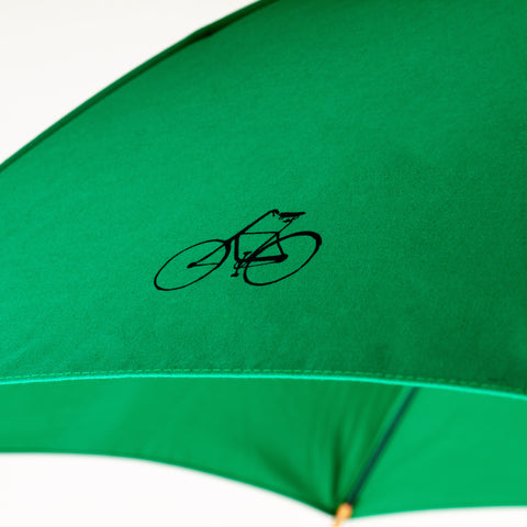 MERDE IL PLEUT Umbrella - Emerald Green