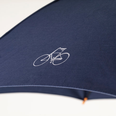 MERDE IL PLEUT Umbrella - Navy Blue