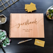 Wedding Guest Book Calligraphy