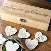 Wedding Guest Book Alternative Box