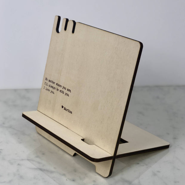 Docking Station - Personalised Docking Station, Love Quote