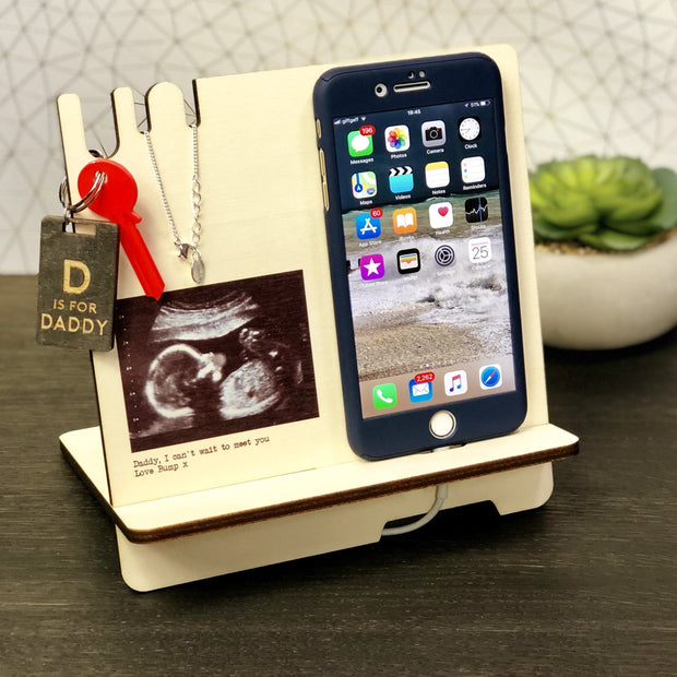 Docking Station - Personalised Docking Station With Baby Scan