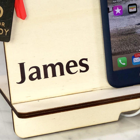 Docking Station - Personalised Docking Station With Name