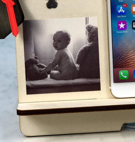 Docking Station - Personalised Docking Station With Photo