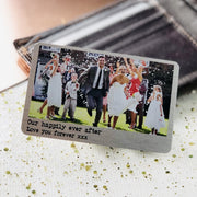 Wallet Insert - Personalised Wallet Insert Card, Wedding Keepsake Idea