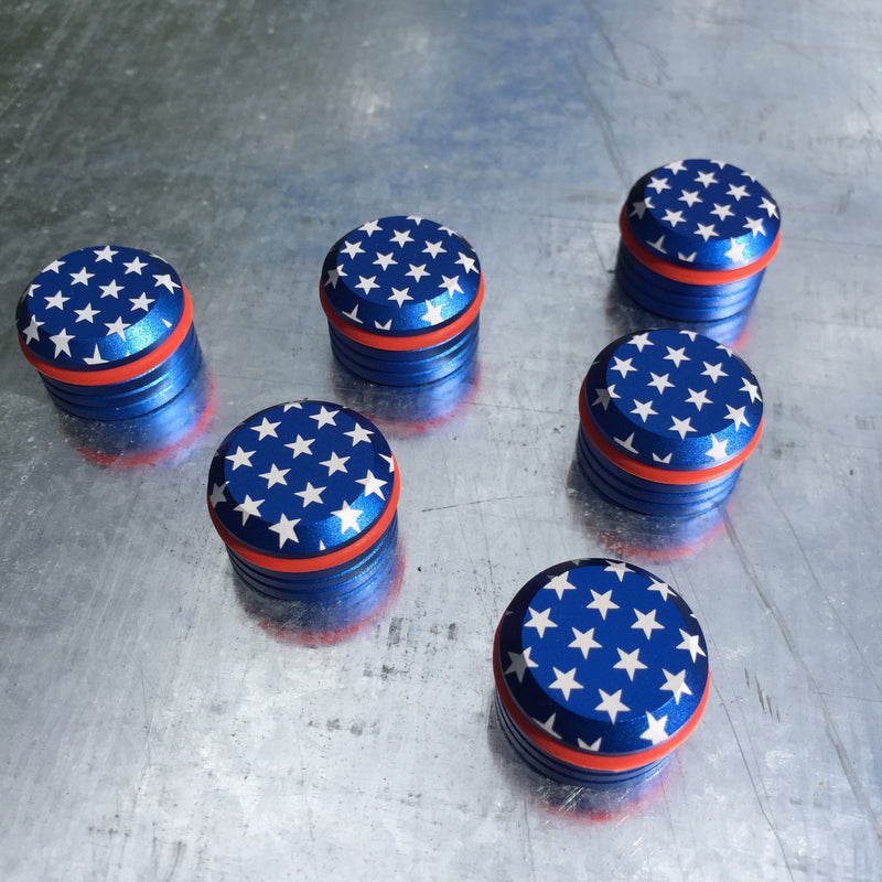SLB original: USA Magnets 6-pack tube