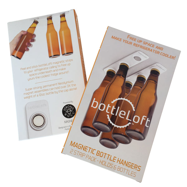 BottleLoft 2-Pack Magnetic Bottle Hangers