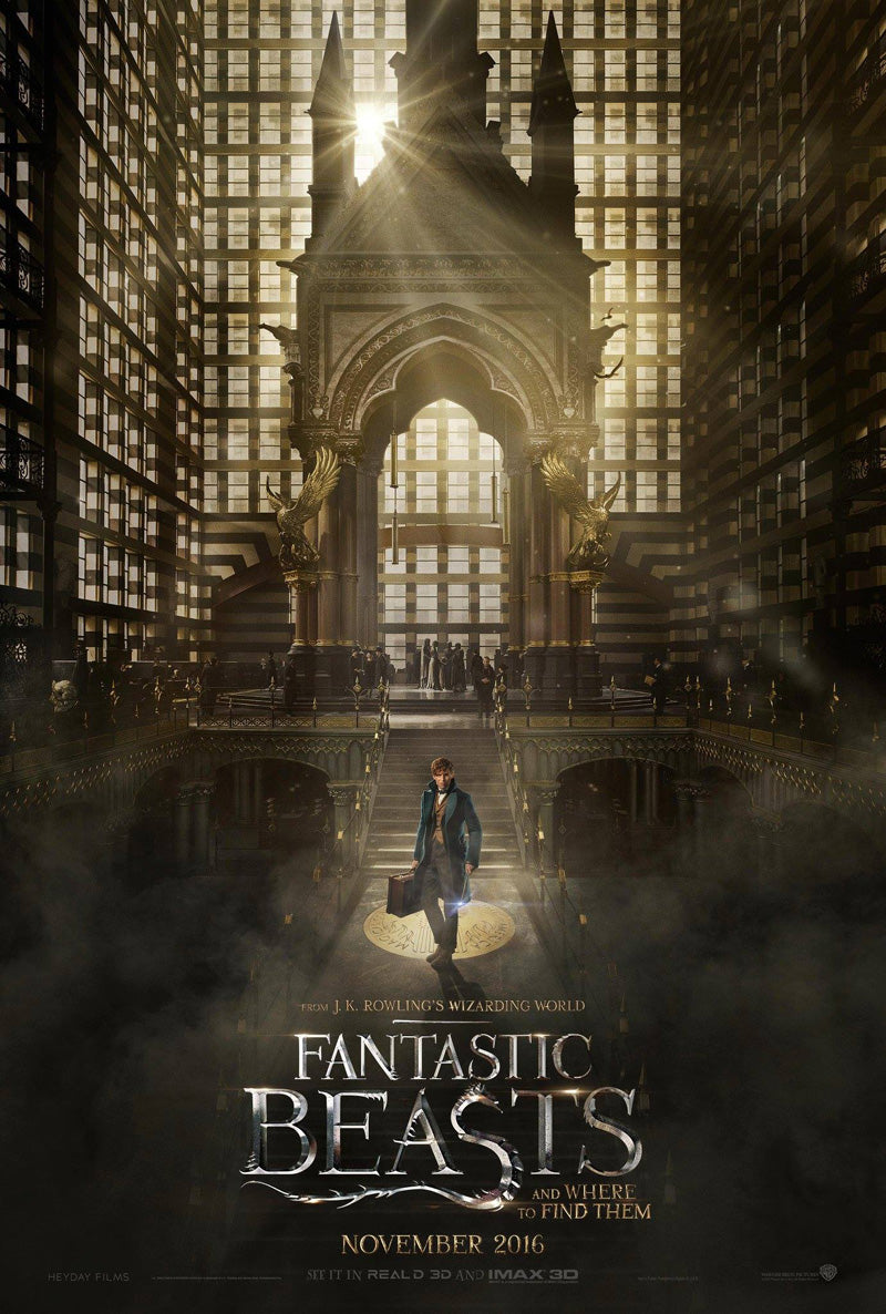 Fantastic Beasts Official Movie Poster