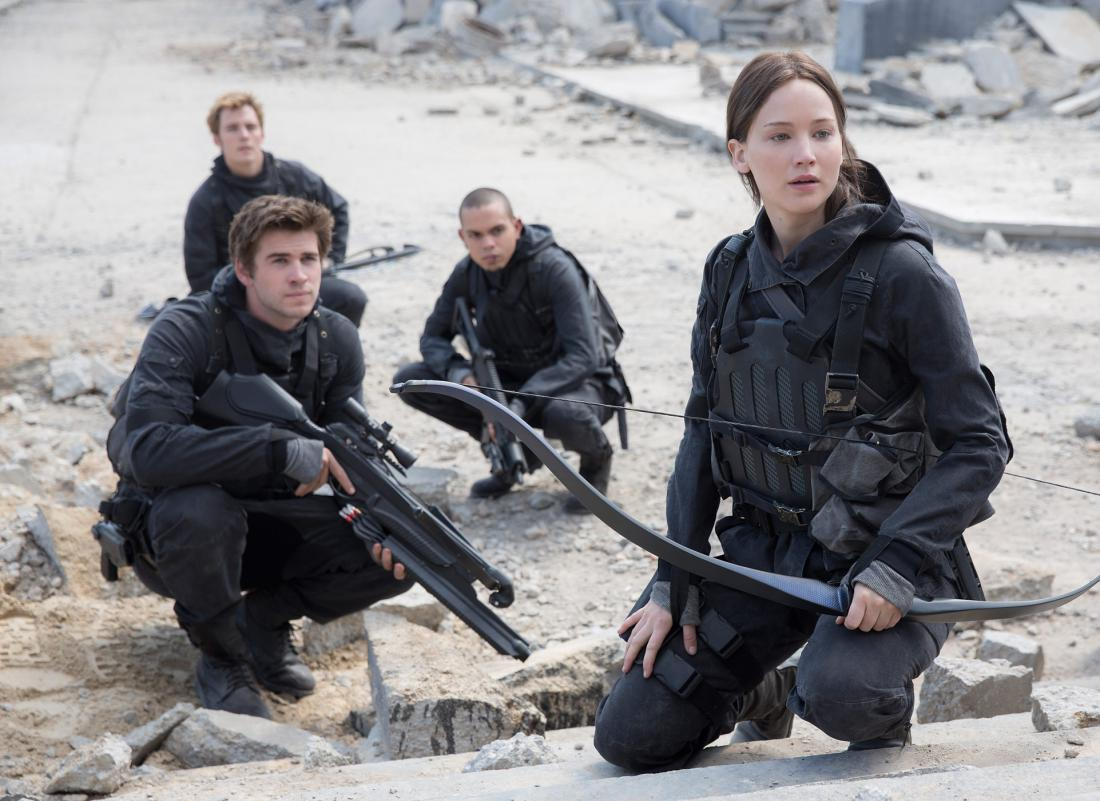 Hunger Games Mockingjay Part 1 (Lionsgate)