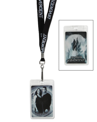 Divergent Tris & Four Swirls Lanyard, NECA, The Fandom Frenzy, Amazon.com