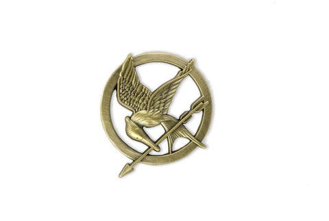 The Hunger Games Mockingjay Pin Prop Replica, NECA, The Fandom Frenzy, Amazon.com