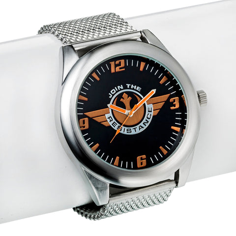 Star Wars: Episode VII - The Force Awakens Rebels Icon Mesh Strap Watch, Accutime, The Fandom Frenzy, Amazon.com