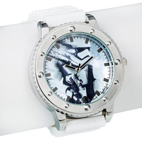 Star Wars: Episode VII TFA Stormtrooper Bracelet Watch, Accutime, The Fandom Frenzy, Amazon.com