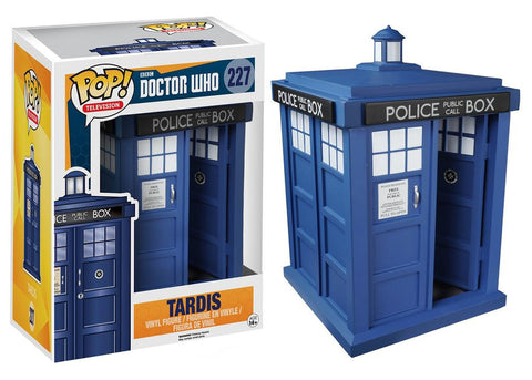 Doctor Who Tardis 6-inch Pop! Vinyl Figure, Funko Pop!, The Fandom Frenzy, Amazon.com