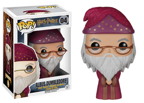 Harry Potter Albus Dumbledore Pop! Vinyl Figure (Wave 1/2015), Funko Pop!, The Fandom Frenzy, Amazon.com