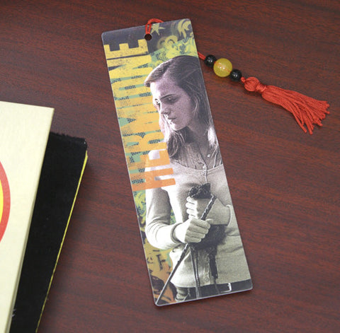 Harry Potter and the Deathly Hallows 2 Hermione Bookmark, NECA, The Fandom Frenzy, Amazon.com