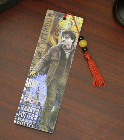 Harry Potter and the Deathly Hallows 2 Harry Potter Bookmark, NECA, The Fandom Frenzy, Amazon.com