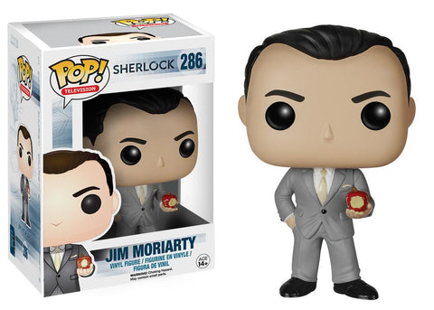 Sherlock Jim Moriarty Pop! Vinyl Figure, Funko Pop!, The Fandom Frenzy, Amazon.com