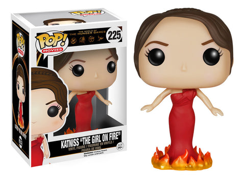 The Hunger Games Katniss Girl on Fire Pop! Vinyl Figure (Wave 1/2015), Funko Pop!, The Fandom Frenzy, Amazon.com