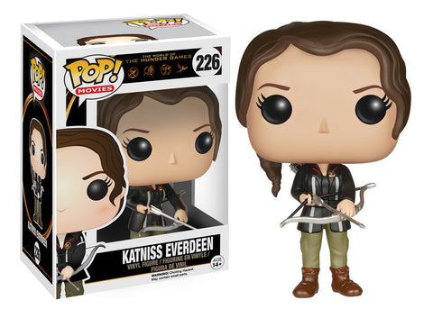 The Hunger Games Katniss Everdeen Pop! Vinyl Figure (Wave 1/2015), Funko Pop!, The Fandom Frenzy, Amazon.com