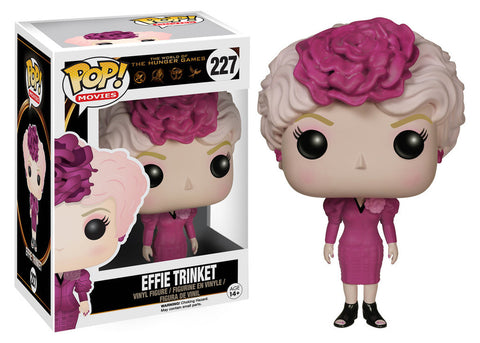 The Hunger Games Effie Trinket Pop! Vinyl Figure (Wave 1/2015), Funko Pop!, The Fandom Frenzy, Amazon.com