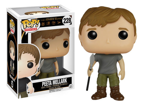 The Hunger Games Peeta Mellark Pop! Vinyl Figure (Wave 1/2015), Funko Pop!, The Fandom Frenzy, Amazon.com