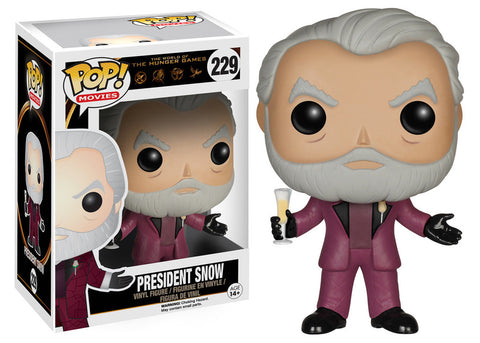 The Hunger Games President Snow Pop! Vinyl Figure (Wave 1/2015), Funko Pop!, The Fandom Frenzy, Amazon.com