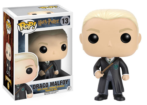 Harry Potter Draco Malfoy Pop! Vinyl Figure (Wave 2/216), Funko Pop!, The Fandom Frenzy, Amazon.com