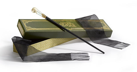 Fantastic Beasts - Queenie Goldstein Wand Replica, Noble Collection, The Fandom Frenzy, Amazon.com