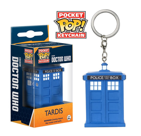Doctor Who TARDIS Pocket Pop! Key Chain, Funko Pop!, The Fandom Frenzy, Amazon.com